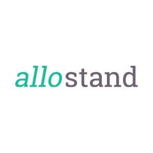 Logo de la startup allostand