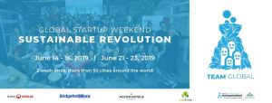 Logo de la startup GLOBAL STARTUP WEEKEND SUSTAINABLE REVOLUTION