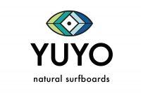 Logo de la startup Yuyo, natural surfboards