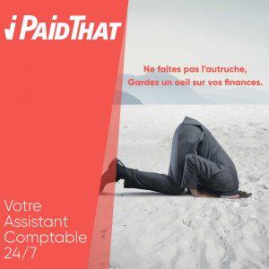 Logo de la startup iPaidThat