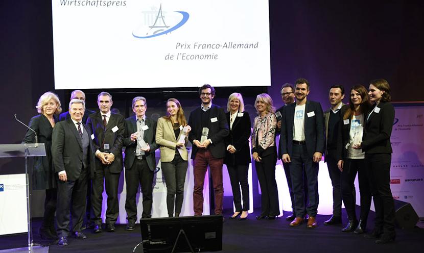 Logo de la startup Prix Franco-Allemand de l'Economie 2019
