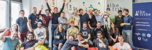 Logo de la startup theTribe, une tribu pas comme les autres, à la croissance fulgurante