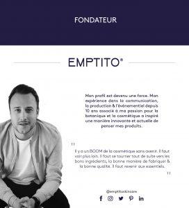 Logo de la startup EMPTITO