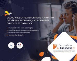 Logo de la startup La plateforme de formation pour e-commercant !