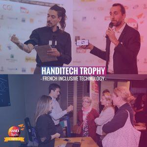 Logo de la startup Handitech Trophy - Zoom sur le premier #Handipitch