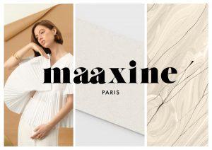 Logo de la startup Maaxine, un chemisier français