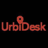 Logo de la startup Urbidesk, la plateforme qui réunit l'offre et la demande en bureaux flexibles à partager