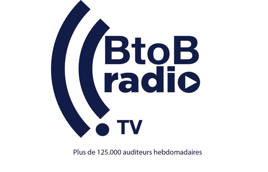 Logo de la startup BtoBRadio tv