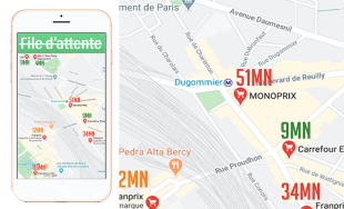 Logo de la startup L'Appli STOP FILE D'ATTENTE - La fréquentation des commerces EN TEMPS REEL