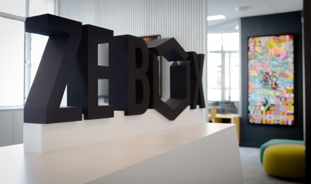 Logo de la startup ZEBOX