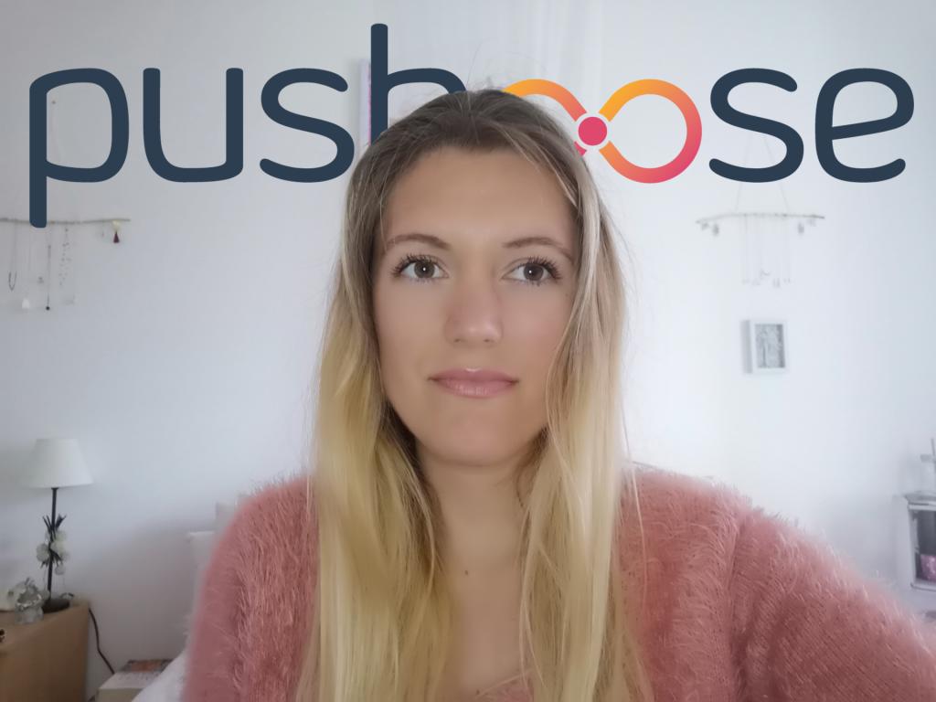 Logo de la startup Pushoose