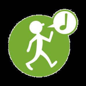 Logo de la startup 1km à Pied