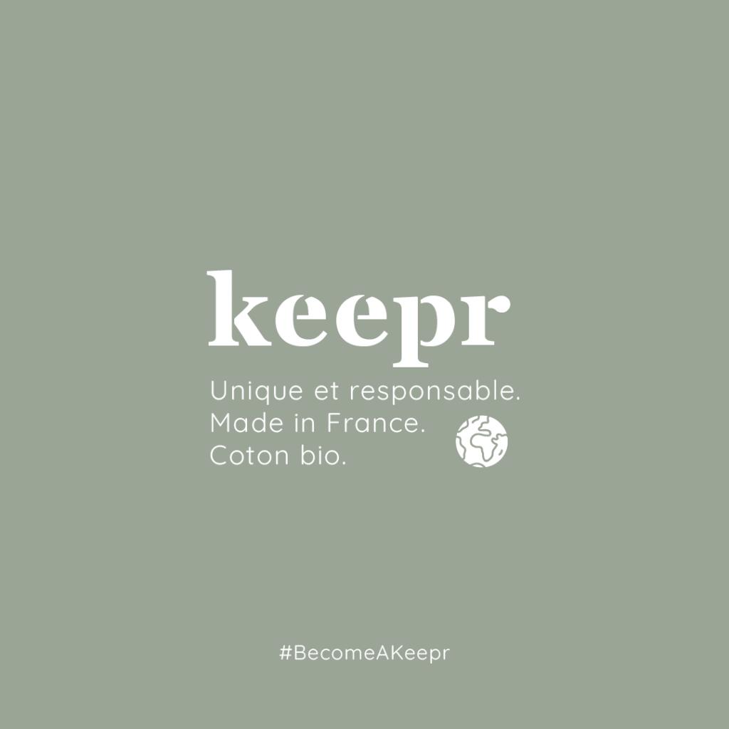 Logo de la startup Keepr