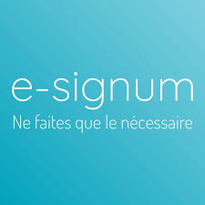 Logo de la startup e-signum