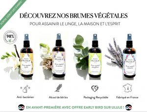 Logo de la startup Brumes végétales Maison PLOUF Paris