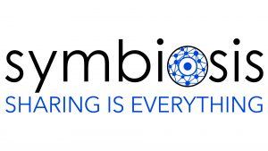 Logo de la startup Symbiosis, Sharing is everything