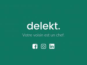 Logo de la startup delekt
