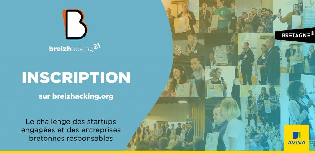 Logo de la startup Breizhacking : le challenge des startups engagées