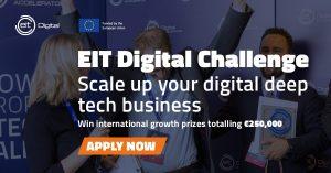 Logo de la startup EIT Digital Challenge