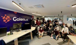 Logo de la startup Golem.ai annonce une levée de 5 millions d'euros