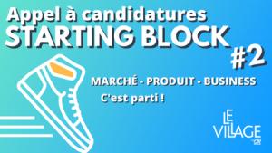 Logo de la startup Le Village By CA Paris présente les startup de Starting Block 2021