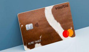 Logo de la startup VAULTIA