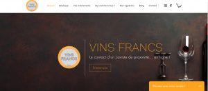 Logo de la startup Vins Francs