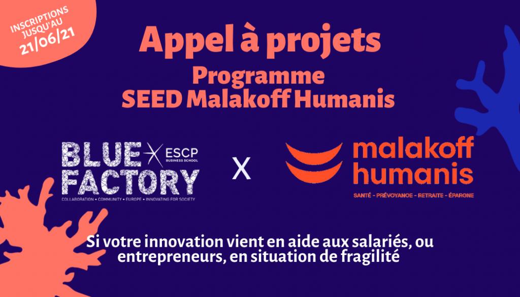 Logo de la startup Blue Factory ESCP