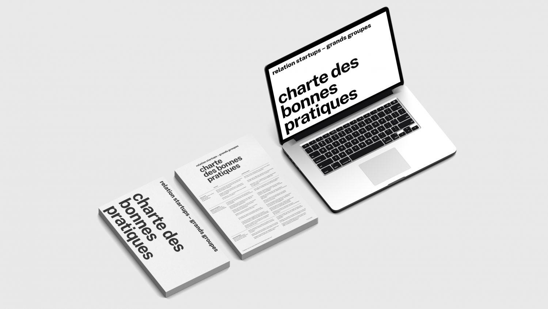Logo de la startup Le Village By CA Paris présente la charte des bonnes pratiques startups x grands groupes