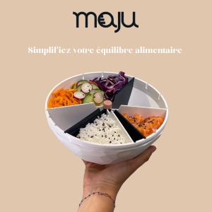 Logo de la startup maju