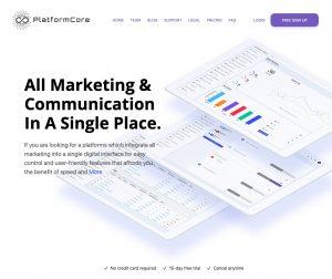 Logo de la startup PlatformCore