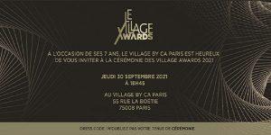 Illustration de la news Le Village by CA Paris organise la quatrième cérémonie des Village Awards