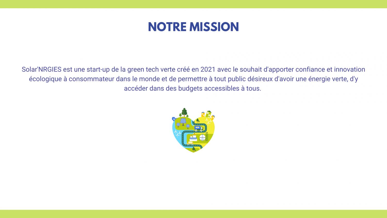 Logo de la startup Solar'NRGIES