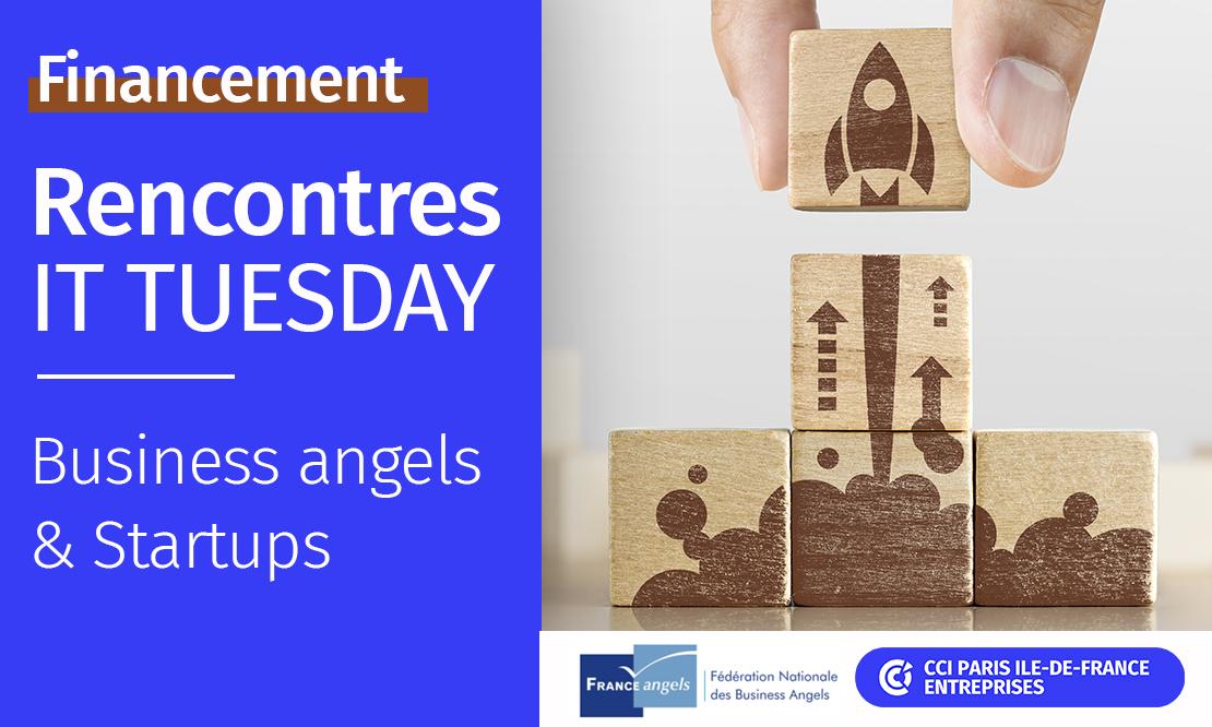 Logo de la startup CCI PARIS : Rencontre business-angels et startups