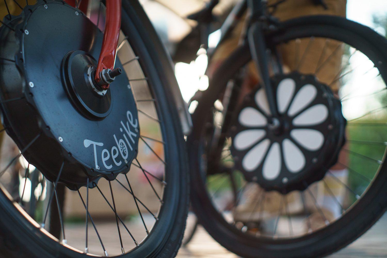 Logo de la startup Teebike