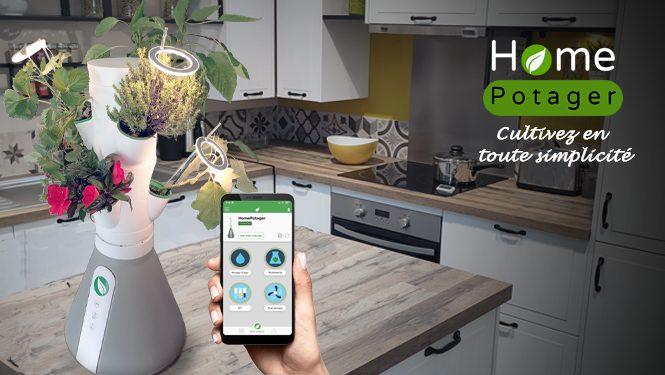Logo de la startup Home Potager